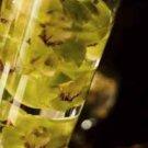 1 Deluxe Cymbidium Orchids Wedding Reception Glass Vase Centerpiece - Custom Made to Order