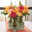 10 Floral Wedding Reception Table Centerpieces - Custom Made To Order