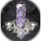 12 Hydrangeas Wedding Reception Glass Vase Centerpieces - Custom Made To Order