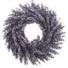 Pew Decoration - Lavender Wreath In Two Tone Lavender Purple