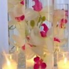 36 Orchids Glass Cylinder Vase Wedding Reception Table Centerpieces - Custom Made To Order