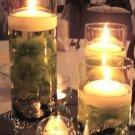 Set Of 3 Hydrangea Wedding Reception Glass Vase Table Centerpiece Set - Custom Made To Order