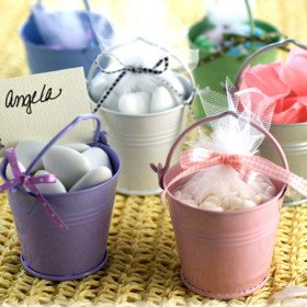"""""""Enchanted Carriage"""" Fairytale Themed Favor Box (Set of 12) - Lilac"""