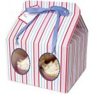 Striped Cake Box (Set of 12)
