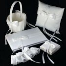 The Ribbon Collection Wedding Accessories (Five Piece Set)