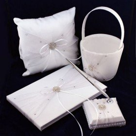 """The Very Precious"" Wedding Accessory Collection (Four Piece Set)"