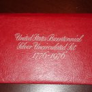United States Bicentennial 3pc Silver Mint Set