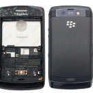 Black full housing cover for blackberry storm 9550 9520
