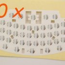 10x BLACKBERRY CURVE 8330 KEYBOARD PCB MEMBRANE STICKER