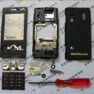 Black Sony Ericsson W715 W715i W705i Housing Cover Sets