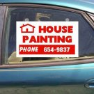 Window sign for auto or store.   #102