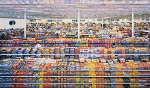"""""""99 cents"""" poster by Andreas Gursky"""