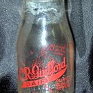 C.R. Guifford Dairy 1/2 pint Milk Bottle