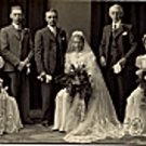 Vintage Wedding Photo c1920