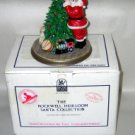 Santa Decorated the Tree - Rockwell Collectible