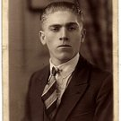 Formal Photo of a Serious Young Man - Photo #7 (1900-1920)
