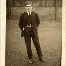 Casual Photo of Young Man in a Park - Photo #27 (1900-1920)