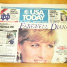 USA Today Complete Paper re: Diana's Death