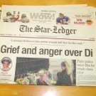 Monday Star Ledger Articles re: Diana's Death