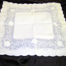 Square Vintage Doily - Shipping has been REDUCED!!!