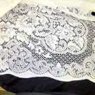 Vintage Lace Table Cloth - 70x108