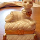 Lenox Cat Treasure Box