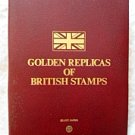 Golden Replicas of British Stamps