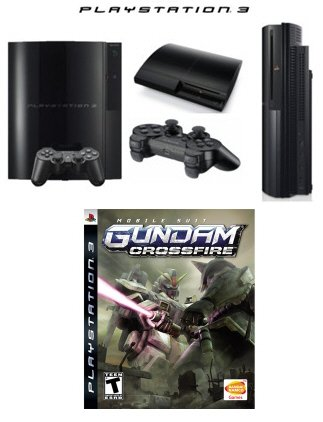 Sony Playstation 3 - 60GB Video Game Bundle with One Great Game