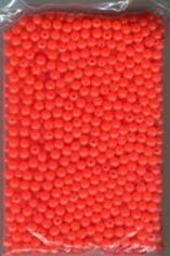 Size 6mm Salmon Red Fishing Beads (1000 Ct Pkg)
