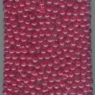 New Size 6 MM Round  Ruby Red Plastic Beads 1000 Count