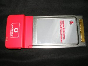 Vodafone 3.5G(HSDPA)/3G/EDGE/GPRS datacard (OPTION) - UNLOCKED/UNUSED (without box)