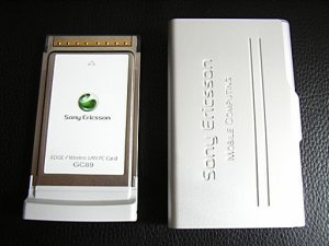 Sony Ericsson GC89 EDGE /Wireless LAN - NEW (inbox)