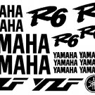 Yamaha R6 Decal Kit