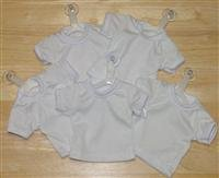 Mini T-Shirt With Hanger And Suction Cup (WHITE)