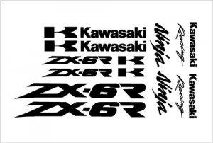 Kawasaki Ninja Decal Kit