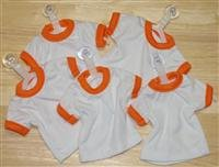 Mini T-Shirt With Hanger And Suction Cup (ORANGE)