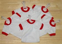 Mini T-Shirt With Hanger And Suction Cup (RED)