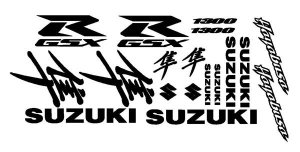 Suzuki GSXR 1300 Hyabusa Decal Kit