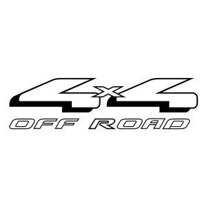 4X4 Off Raod Decal (01)