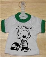 Jeff Gordon Whining Mini T-Shirt With Hanger (Green)