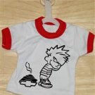 Crap On Chevy Mini T-Shirt With Hanger (Red)