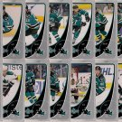 2010-11 O-Pee-Chee Team Set San Jose Sharks 16-cards