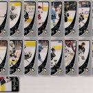 2010-11 O-Pee-Chee Team Set Pittsburgh Penguins 17-cards