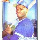 1991 Topps Mark Whiten RC Card #588