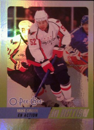2010-11 O-Pee-Chee In Action #IA16 Mike Green