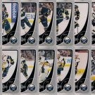 2010-11 OPC Buffalo Sabres Base Team Set 16-Cards