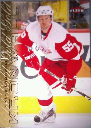 2009-10 Ultra Gold Medallion #187 Niklas Kronwall