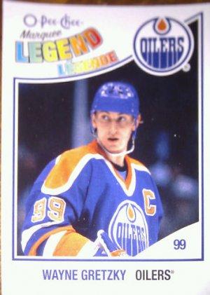 2010-11 O-Pee-Chee #599 Wayne Gretzky Legend