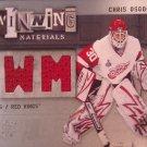 2009-10 SPx Winning Materials #WMCO Chris Osgood