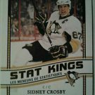 2010-11 O-Pee-Chee Stat Kings Sidney Crosby #SK1